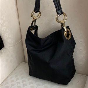 JPK Paris 75 Large Black Bucket Handbag